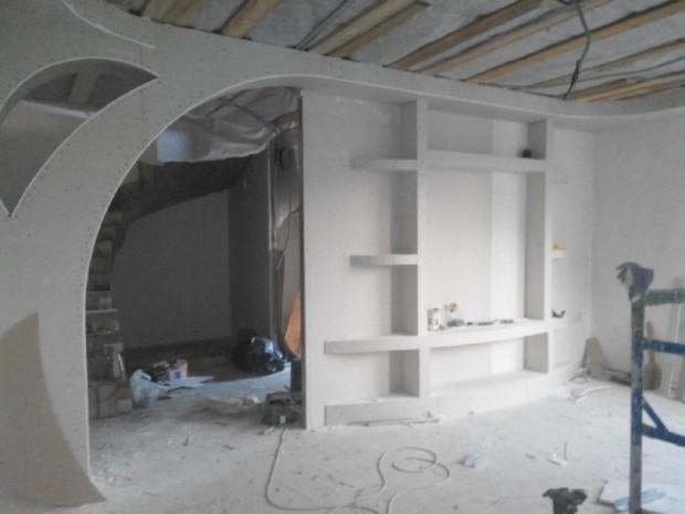 Гипсокартон для ремонта и отделки квартир