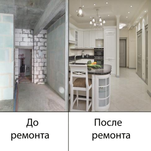 Ремонт квартир в Сочи от начала и до конца